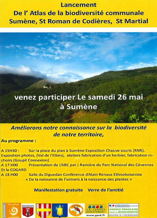 ballade decouverte faune et flore du Liron 3 juin 2018